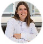 Image of Amanda Winter in lab coat