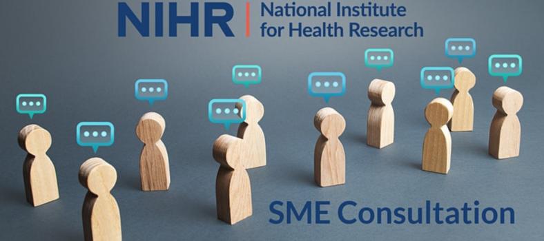 Featured image NIHR SME Consultation